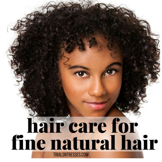hair care for fine natural hair