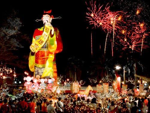 Lễ hội River Hongbao của Singapore với màu sắc rực rỡ, nổi bật