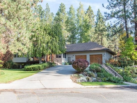 Recently sold: . Privacy and comfortable living are offered in this beautiful contemporary home located in the heart of the Rockwood neighborhood on Spokane's South Hill. Nearly half an acre of gorgeous, well maintained grounds borders a vacant, wooded lot to provide seclusion only 5 minutes from downtown. Over 3800 square feet of comfort with cathedral ceilings, architectural detail, 3 fireplaces, 4 bedrooms, 3 bathrooms, main floor office that is also the 5th bedroom. You have to check…