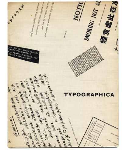 Spencer, Herbert // TYPOGRAPHICA London1955.