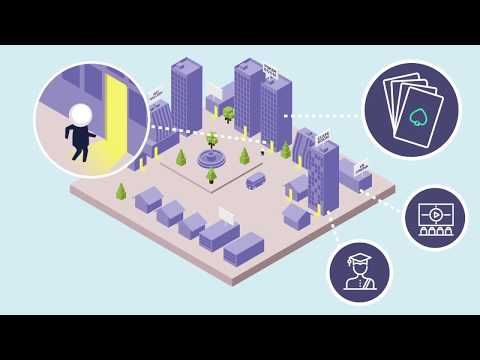 6 Motion Graphics Isometric Perspective Youtube Virtual Isometric Blockchain