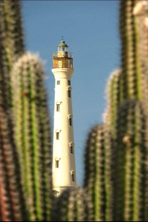 California Lighthouse, taken from Arashi Beach, Aruba