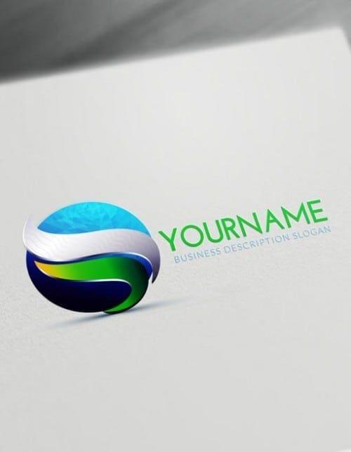 3d Logos Create 3d Logo Online With Our Free Logo Maker Free Logo 3d Logo Business Brochure Design