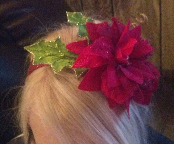 Band, Poinsettia and Head bands on Pinterest
