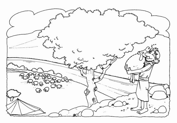 crippled lamb coloring pages - photo#40
