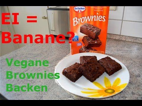 Veganer Kuchen Dr Oetker Video Einfach Vegane Brownie Backen Mit Backmischung Und Bananen Ich Zeige Eu Brownies Ohne Backen Veganer Kuchen Backmischungen