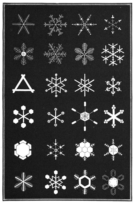 Snowflakes  a chapter from the book of nature.  Published 1863 by Amer. tract society in Boston .