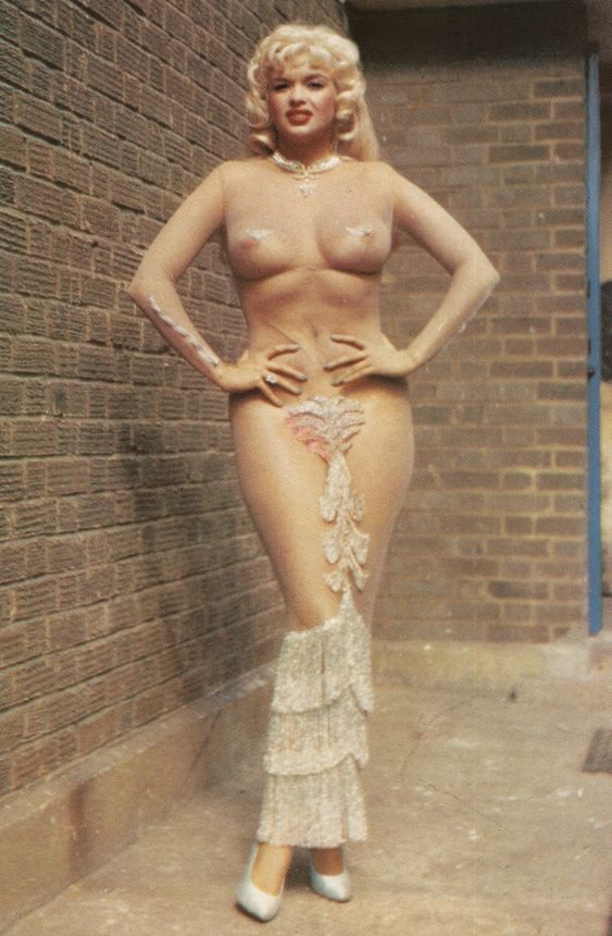 jayne mansfield in see through dress costume idea burlesque beauty