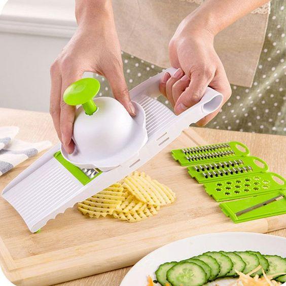 kitchen gadgets - Mandoline Slicer - vegetable peeler slicer