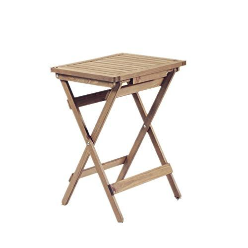 Folding Table Multi Function Wooden Garden Table Old Empty Coffee