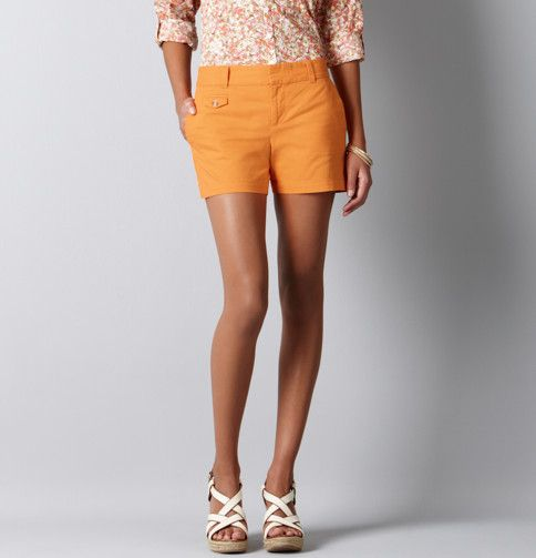 Tangerine Fusion...my summer wardrobe might need these