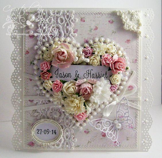 Wedding card: