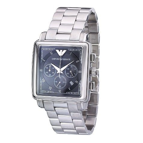 Watches For Men Emporio Armani Mens Stainless Steel Bracelet Watch