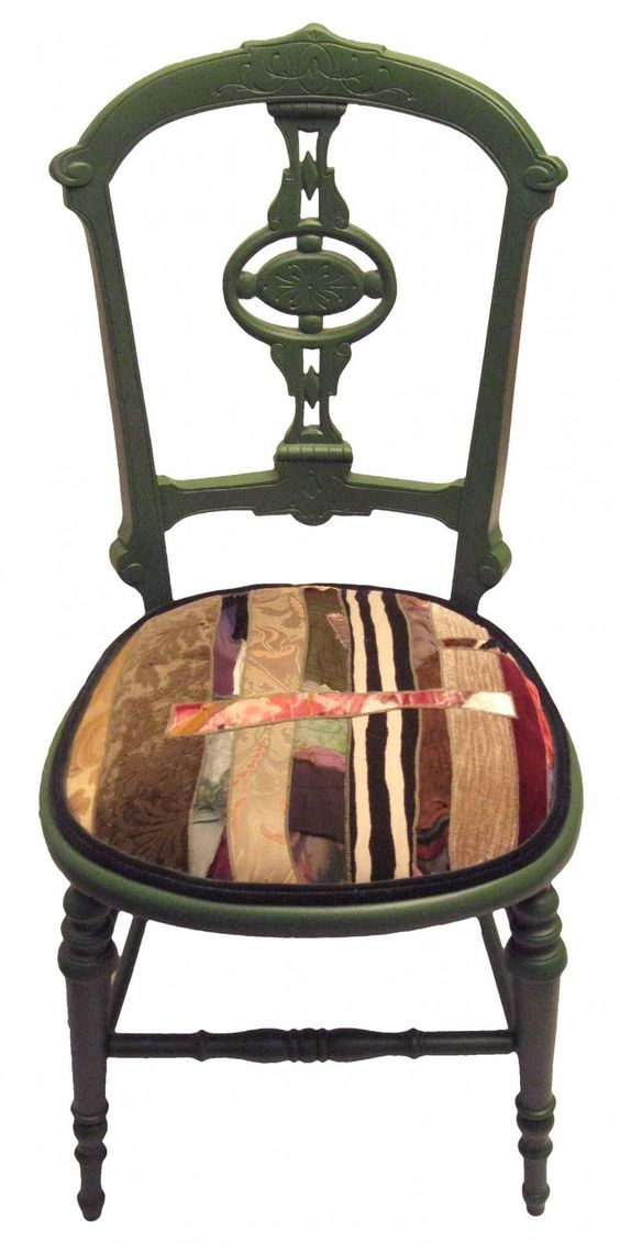 Recycled fabric upholstered chair recycled recycled for Funky fabric dining chairs