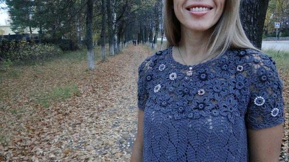 Купить Мастер-класс по вязанию бохо-платья Анна в формате PDF - мастер-класс по вязанию