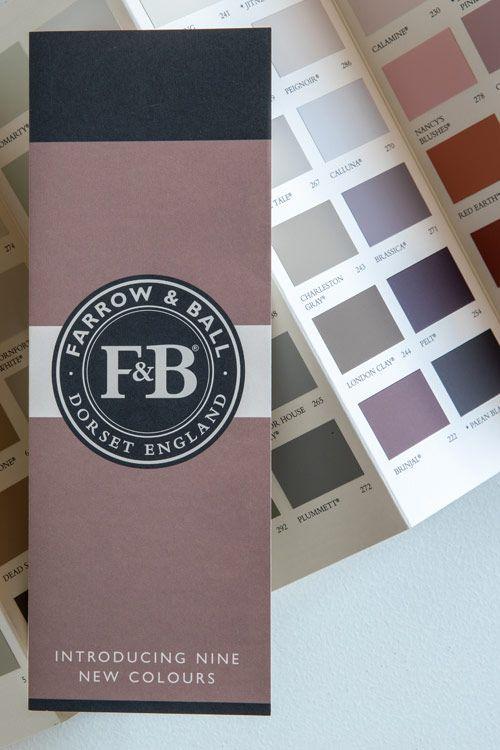 Free Colour Card And Discover Brochure Farrow Ball Cartes De Couleurs Nuancier Peinture Farrow Ball
