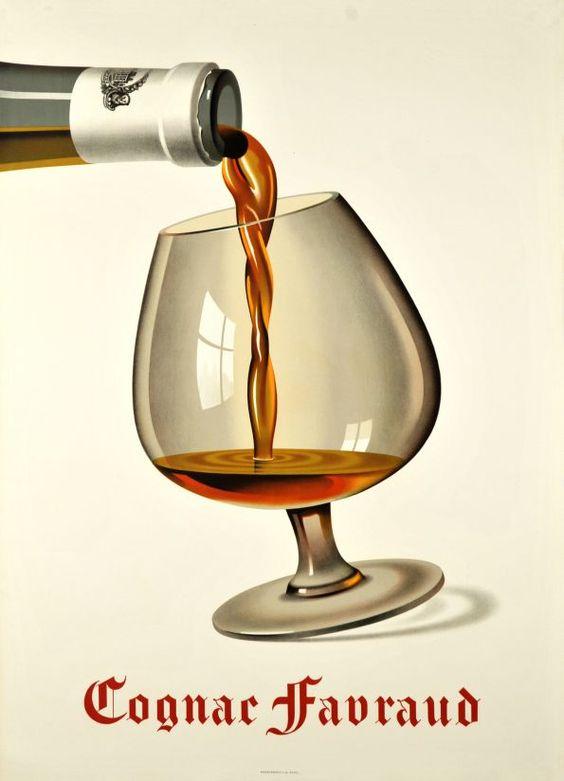 Cognac Favraud by Birkhauser Peter / 1948