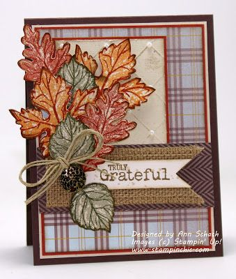 The Stampin' Schach: Gently Falling for The Paper Players and Poor Muffy