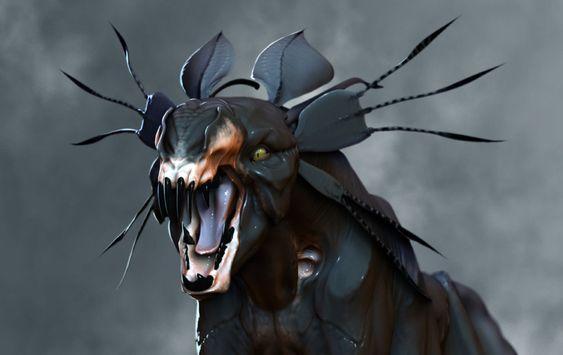 Thanator/Palulukan aus Avatar, 1:13 Resin 3D Druck 6ed358435cbb8fb307fb50dc03cabc96