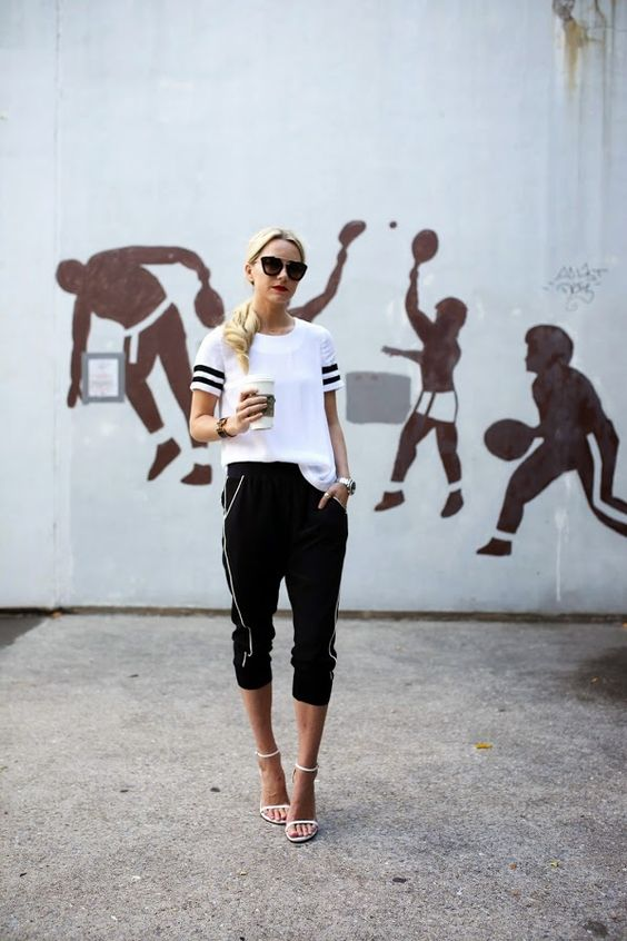 FashionDRA | Lookbook : A Sporty Chic Outfit