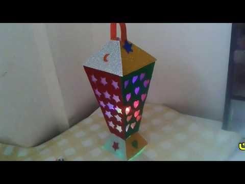 زينه رمضان عمل قدره الفول رووووعه مش هتصدقي من اي Youtube Crafts Arts And Crafts Decor