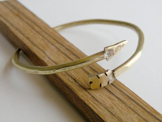 Arrow Bracelet by HeroKing on Etsy