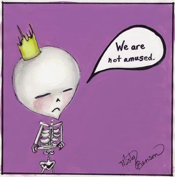 Dark Little Dearies #12 - Skeleton Cartoon Art by gossamerfaery on deviantART