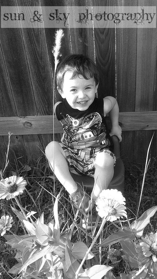 My son - 25 months old - 7/22/14