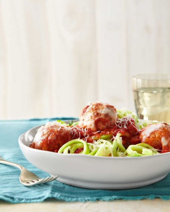 http://www.freehealthyfood.com/recipes/turkey-meatballs-over-zucchini-noodles/