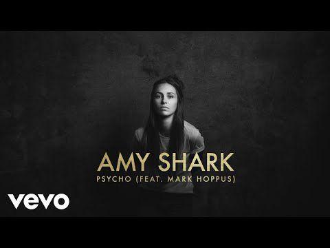 Amy Shark Psycho Lyric Video Ft Mark Hoppus Youtube Shark Lyrics I Cant Sleep