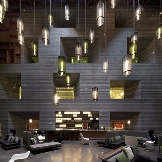 Le Meridien Zhengzhou designed Neri&Hu Design and Research Office.  #d_signers #d_signersIn