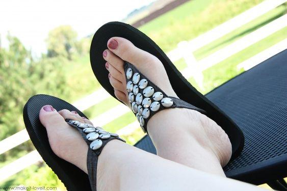 flip-flop refashion