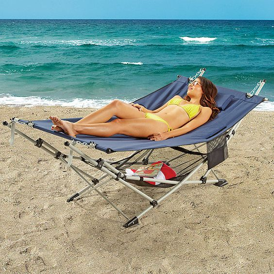 Hammock With Stand Hammocks And Mesh On Pinterest