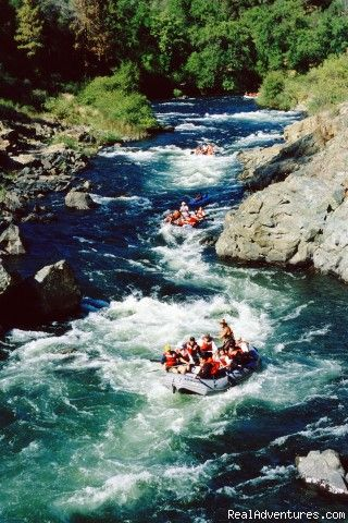 California Whitewater Rafting with All-Outdoors, Walnut Creek, California Rafting Trips - RealAdventures