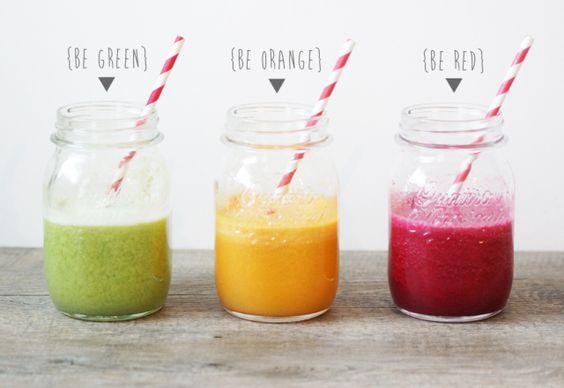 Recettes : 3 jus de fruits vitaminés (via PomVerte)