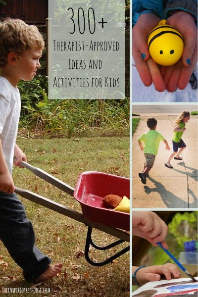 index of activities for kids for kids therapy and