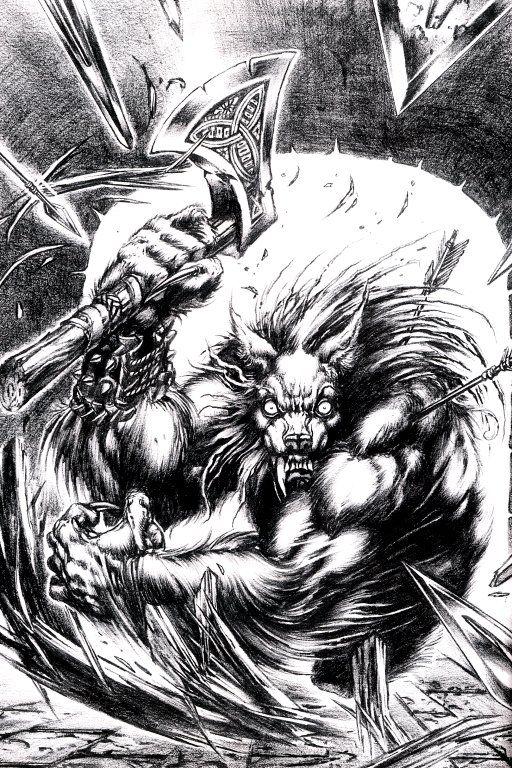 Wilkołak #światmroku #worldofdarkness #wod #werwolf
