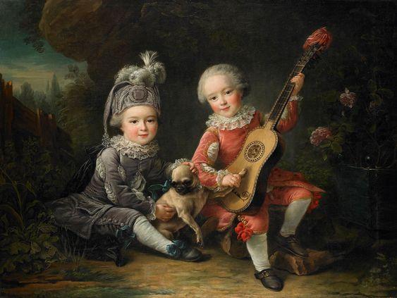 Resultado de imagen de niños siglo XVIII