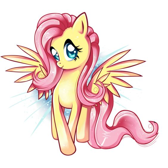 Fluttershy - i'm so happy by AnthoCat: