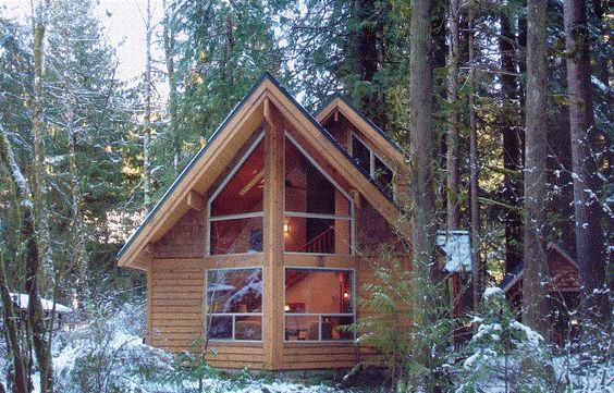 Pre cut cabin and tiny house kits tiny homes pinterest for Pre cut homes