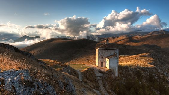 ancient churches | Church Hilly Landscape in high resolution for free. Get Ancient Church ...
