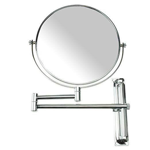 Lansi 10x Magnifying Wall Mounted Makeup Mirror 10x Magnification