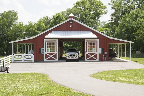 Morton buildings horse barn in thompson 39 s station for Morton building designs