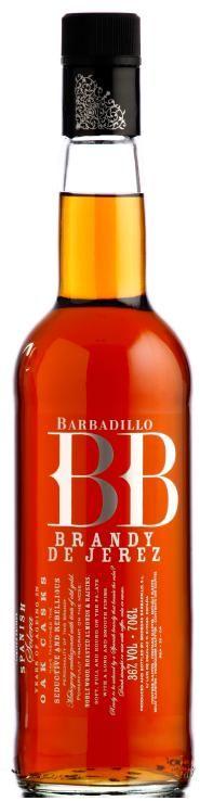 Brandy Solera BB, brandy de Jerez. Bodegas Barbadillo.