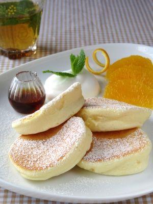 Japanese Souffle Pancake: