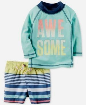 2b6cb90c4818f Newborn boy swimwear. See good-quality swimming trunks and rashguards. baby  swim trunks infants #babyswimtrunks #babyswimsuit