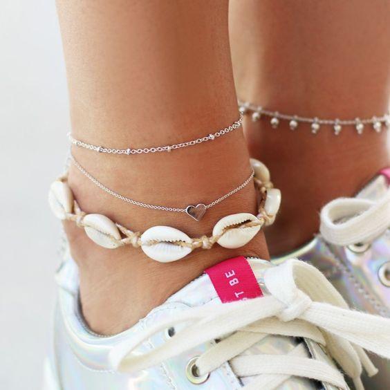 Shell Bracelet & Anklet | My Jewellery