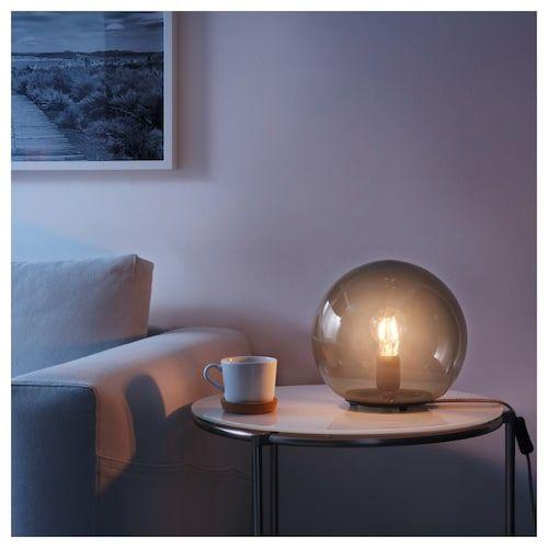FADO Tischleuchte grau IKEA Deutschland | Lampor