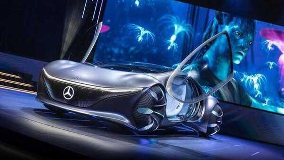 Mobil Mercy Mobil Futuristik Mobil Mobil Konsep