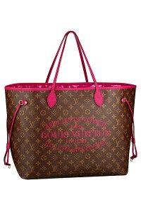 Louis Vuitton Pink Neverfull Bag